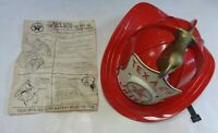 TEXACO FIRE CHIEF HAT TOY 1960'S NEW IN OPENED BOX