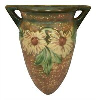Roseville Pottery Dahlrose Wall Pocket 1258-8