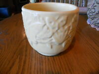 Vintage Nelson McCoy Butterfly Yellow Planter, late 30's,
