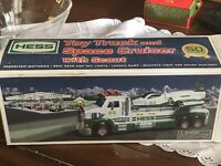 2014 HESS TOY TRUCK and SPACE CRUISER with SCOUT, MIB