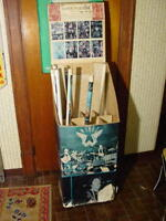 Vintage Super Posters Display Box From Head Shop In PA Hendrix The Who Stones
