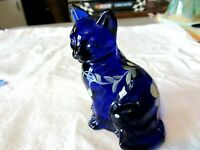 Fenton Glass Cobalt Blue 3 1/2