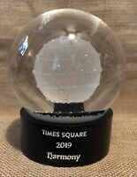Waterford 2019 TIMES SQUARE Harmony New YEAR#x27;S EVE Snowglobe Globe PreCovid $29.00