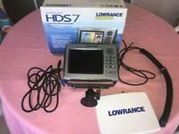 Lowrance HDS 7 INSIGHT USA GEN 2 GPS/Fishfinder-used once