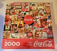 Vintage 2000 Piece 1998 Coca Cola Jigsaw Puzzle Coke Adds Life BRAND NEW SEALED