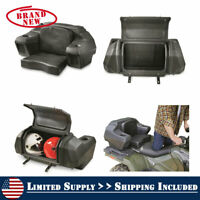 ATV Seat Backrest Storage 4 Wheeler Locking Padded Waterproof Rear Hatch Chair