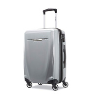 Samsonite Winfield 3 DLX Spinner Hardside Carry-On Silver Luggage 5620