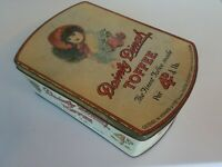 Nice large pictoral toffee tin Dainty Dinah Horner chester-le-street Durham