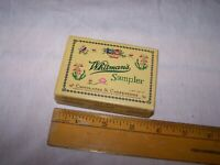 Vintage Small 2oz WHITMAN#x27;S SAMPLER Empty Candy Box