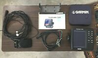 Garmin 320C Color Sonar Fish finder with Mount, Cover & Transducer