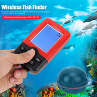 Smart Handheld Wireless Sonar Sensor Sounder Fish Finder Depth Detector Portable