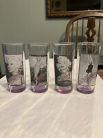 marilyn monroe drinking glasses