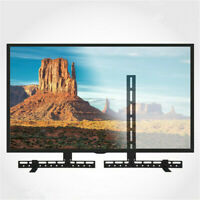 Universal Sound Bar Bracket Under Over TV Wall Mount Speaker for Vizio Samsung $25.99