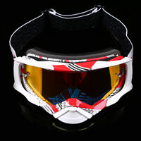Motorcycle Goggles Motocross Sport ATV Glasses Adjustable Clear UV Eyewear