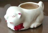 Vintage Shawnee Pottery Puss N Boots Cat Kitty Planter  Hard To Find