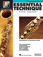 Essential Elements for Band Bb Bass Clarinet Book 3 Music Lessons amp; Online Media