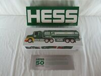 Hess 50th Anniversary Collectible Toy Truck Set 2014 MIB Large & Small Truck