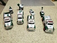 Lot Of Collectible Hess Trucks