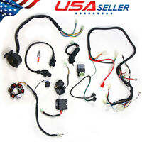Durable Wiring Harness Kit Magneto Stator For GY6 125 150cc ATV Quad Scooter