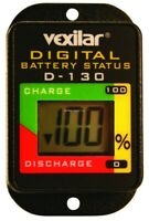 New Vexilar ICe Flasher Battery Status Guage Digital D 130
