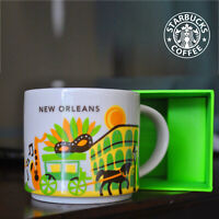 Starbucks New Orleans You Are Here Collection 14 oz Collectors Coffee Mug