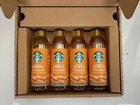 4 Starbucks Caramel Flavored Syrup 12.17 oz