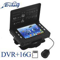 Erchang 15M 1000TVL Fish Finder Underwater Ice Fishing Camera With Video Recordi