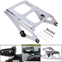 Detachable Two Up Tour Pack Mounting Rack For Harley 2009 2013 Touring