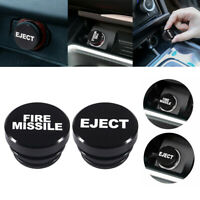 Universal Fire Missile Eject Button Car Cigarette Lighter Cover Accessories 12V $4.48