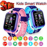 Waterproof Kids Anti lost Smart Watch GPS Tracker SOS Call GSM for Android iOS $14.24