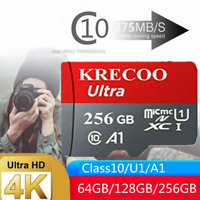 256GB Micro Memory SD Card Universal 4K Fast Class10 Flash TF Card with Adapter $2.98