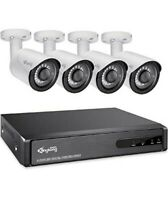 Kingkong Smart 5 in 1 Home Security Camera System Outdoor 4CH DVR Recorder with $100.00
