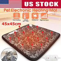 Electric Heating Pad Pet Constant Temperature Warming Cushion Bed for Dog Cat