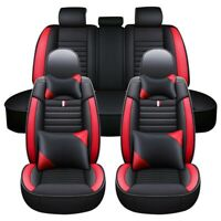 Car 5 Seat Covers Full Set PU Leather Universal for Auto Truck Van SUV $35.89