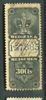 CANADA; Early classic Revenue issue used Weights amp; Measures 30c