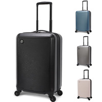 20x9.5x14quot; Hardside Carry On Rolling Spinner Luggage Lightweight Travel Suitcase