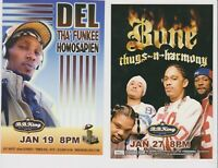 Bones thugs n Harmony not sure of year Promo Glossy 4quot; x 6quot; Card $9.95