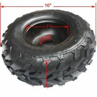 16X8-7 TIRE WHEEL RIM INNER TUBE COOLSTER KIDS ATV QUAD BUGGY RIGHT SIDE I AW02