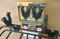 SINGLE FLEX GRIP GUN BOW UTILITY TOOL RACK FFG1 FISHING FOUR WHEELER  ATV TEK