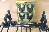 DOUBLE FLEX GRIP GUN RACK BOW TOOL FISHING POLE AND UTILITY RACK ATV TEK FFG2