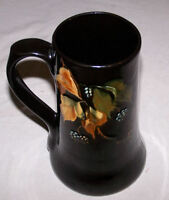 Antique Dickensware Weller Pottery Mug