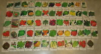 Lot of 63 Old Vintage 1960's-70's - VEGETABLE SEED PACKETS - Lone Star - EMPTY