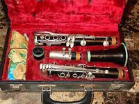 Clarinet Rare Model Normandy 21700 Wood Made In U.S.A. Leblanc Case Instrument
