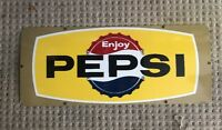 Vintage 1960's Enjoy Pepsi Porcelain Sign