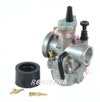 PWK 32MM Racing Flat Side Carburetor for Scooter ATV Motorcycle and Dirt Bike