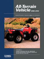 CLYMER MANUAL ATV VEHICLE SUZUKI KING QUAD 300 LT-F4WDX 1991-1992 91 92 LTF 4WDX