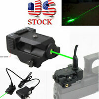 US Rechargeable Subcompact Micro Green Dot Laser Sight for Rifle Scope