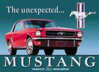 Ford Mustang Vintage Retro Tin Metal Sign 13 x 16in
