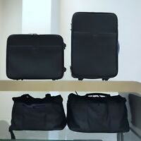 Maserati Genuine OEM 4 pcs Leather Luggage Kit