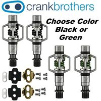 2dadadedc Crank Brothers Eggbeater 2 Clipless Bike XC Trail Pedals Cleats Bros  ChooseColor